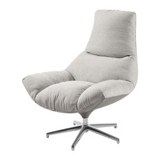 Nuvola Contemporary Armchair, Grey