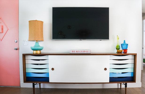 Midcentury Living Room by STRUKTR Studios Photography