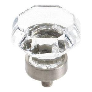 """Knob, 1-5/16"""" Diameter, Satin Nickel"""