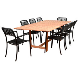 Beach Style Outdoor Dining Sets by International Home Miami Corp