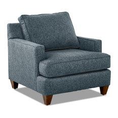 Avenue 405 Paxton Accent Chair, Blue