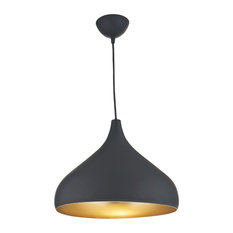 Caria Gold and Matte Pendant Light