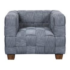 Indigo Woven Accent Chair