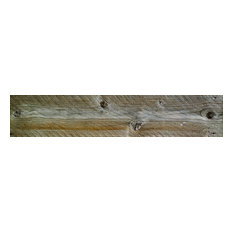 Wood Grain Wall Panels, 20x100 cm, Set of 12