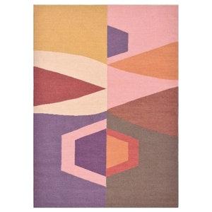 Brink and Campman Tipi Rug, Pink, 140x200 cm