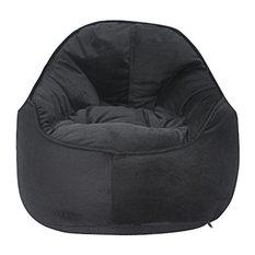 Mini Me Pod, Bean Bag Chair, Black