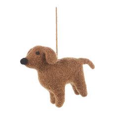 Felt So Good Delightful Doggies Christmas Decoration, Bernard