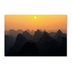 "Philippe Hugonnard 'Silhouettes' Canvas Art, 47""x30"""