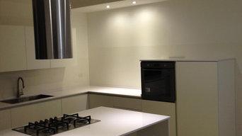 cucina minimal essenziale rigorosa