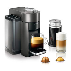 Vertuo Espresso Machine With Aeroccino by De'Longhi, Black