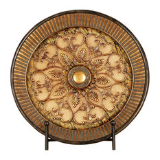 Maddeo Decorative Plate With Stand