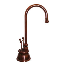 Whitehaus Collection   Forever Hot Instant Hot, Cold Water Dispenser,  Antique Copper, 4.13