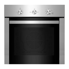"""Empava 24"""" Stainless Steel Built-In NG/LPG Convertible Gas Single Wall Oven"""
