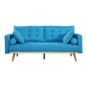 Miraculous Mid Century Modern Linen Fabric Living Room Sofa Andrewgaddart Wooden Chair Designs For Living Room Andrewgaddartcom