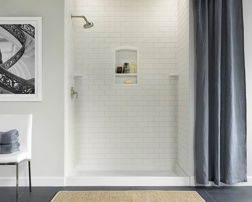 Swanstone Subway And 12 Inch Shower Tile Walls
