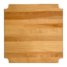 Hardwood Cutting Board/shelf Insert 17.125-inchx17.3125-inchx1-inch
