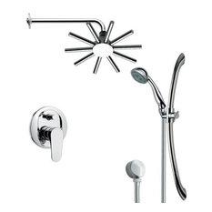Nameeks SFR7087 Remer Single Handle Shower System Faucet, Chrome