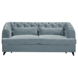 Earl Grey Sofa Bed, Wedgewood, 2-Seater, 113x186 cm