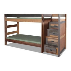 Morgan Creek Multicolor Twin XL Bunk Beds with Stairs