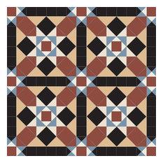 Olde English Grasmere Geometric Floor Tiles