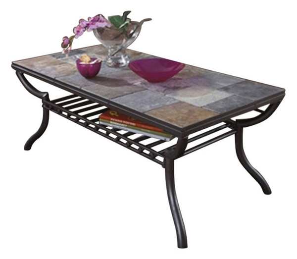 Houzz Black Coffee Table: Ashley Rectangular Cocktail Table Antigo