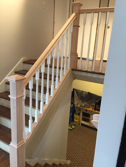 Stain Or Paint New Poplar Railing