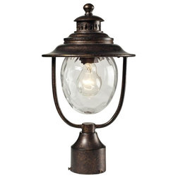Transitional Post Lights by Buildcom