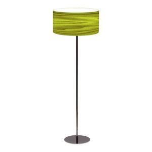 Icono Drum Floor Lamp, Blue, Green