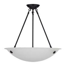 Isiah 3-Light Bowl Chandelier