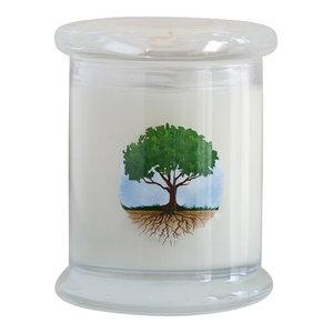 7 oz. Pure Soy Jar, Linden Leaf