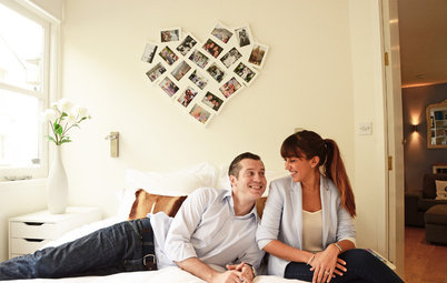 My Houzz: Love Abounds in a Small London Flat