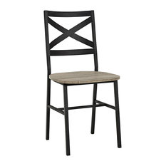 X-Back Dining Side Chairs (Set Of 2) - Driftwood
