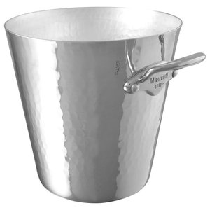 Mauviel M'30 Large Hammered Aluminium Ice Bucket