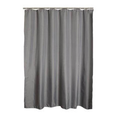 Gray Polyester Waterproof Shower Curtain Bathroom Curtain Bathroom Decor