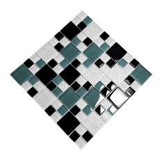 Tricolor Lattice - 3-Dimensional Mosaic Decorative Wall Tile(2PC)