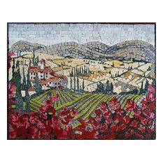 "Mosaic Designs, Tuscan Ville, 19""x26"""
