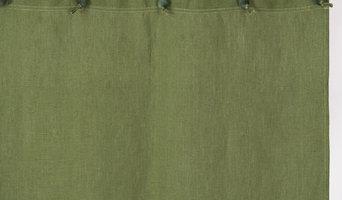Drapers Organic - Hemp Shower Curtains - Purely Sage