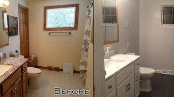 Marble Shower Bathroom