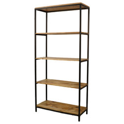 Industrial Bookcases by CAROLINA CLASSICS