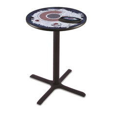 Colorado Avalanche Pub Table 42-inch by Holland Bar Stool Company
