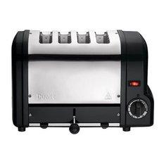Dualit Origins Toaster 4 Slot, Black