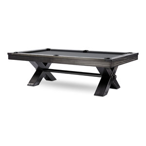 VOX Steel Pool Table With Upgraded Accessories by Plank and Hide