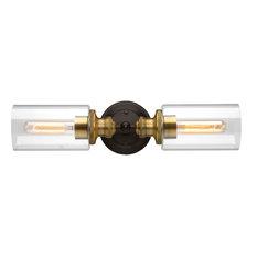 Luxury Industrial Bathroom Vanity Light, Lincoln Series, Olde Bronze