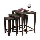 3-Piece Mayall Nested Outdoor Tables, Set, Multibrown