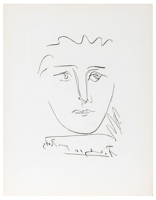 Pablo Picasso, L\'Age de Soleil, Pour Roby, Etching - Contemporary ...