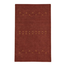 Gava Rectangle Hand Tufted Rug, Clay, 5'x8'
