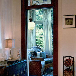 1911 Victorian era sunroom, indochine inspired