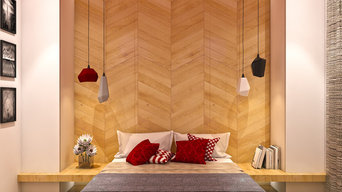 Sample flat - Bedroom