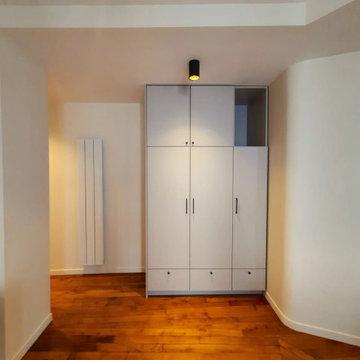 Transformation et rénovation d'un appartement de 65 m2