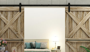 Barn Doors and Rustic Hardware With Free Shipping